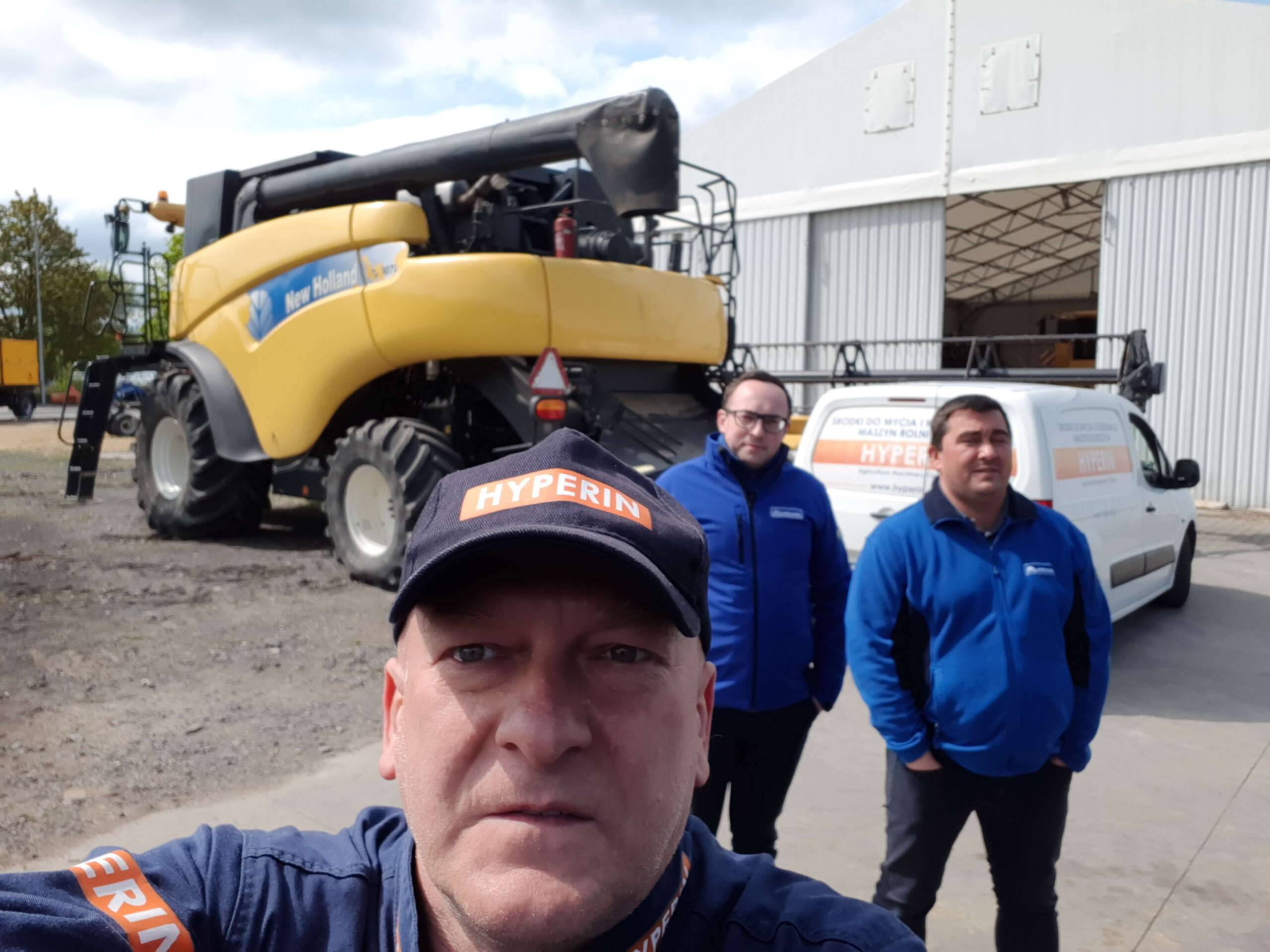 Pokaz w Agrohandel Legnica